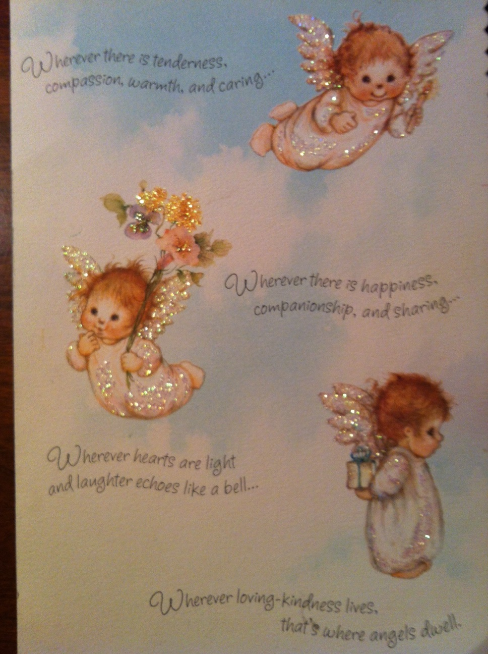 Just wanted to share a birthday card steve and i gave to morgan on just wanted to share a birthday card steve and i gave to morgan on her 10th birthday the inside said angels dwell in the hearts of a very special m4hsunfo