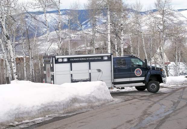 The truck that Morgan needed after she was killed, The Colorado Bureau of Investigation, not a Hearst.